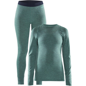 Craft Merino 180 Baselayer Set Damen paradise melange